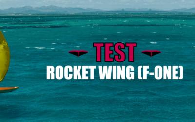 Rocket Wing (F-ONE) : La meilleure planche pour débuter en Wingfoil