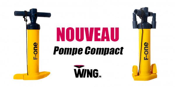 Présentation: La nouvelle pompe Compact F-ONE !