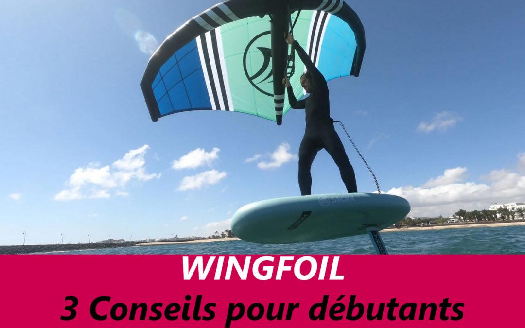 Wingfoil : 3 conseils pour les débutants